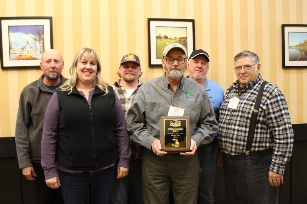 Grant Host of the Year: Delta Conservation District