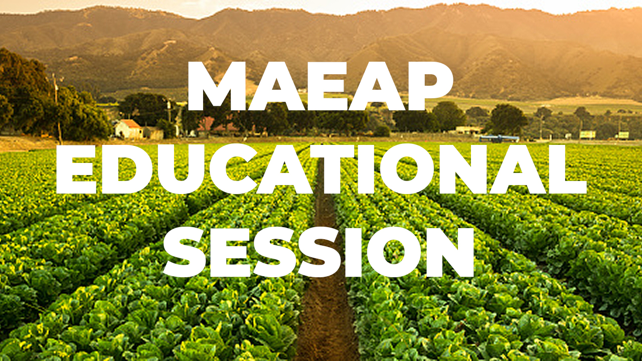 MAEAP Educational Session banner