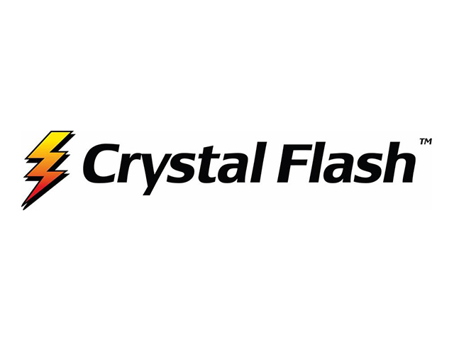 Crystal Flash logo