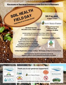 Soil Health field day flyer