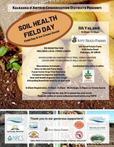 Soil Health field day flyer
